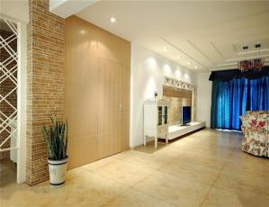 客厅装修家装隐形门设计