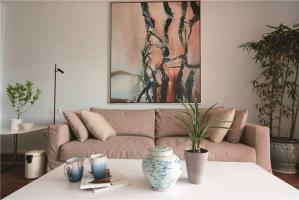 好看的客厅布艺沙发