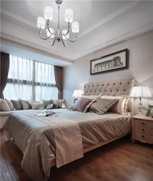 现代卧室布置