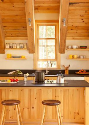 实木餐厅吧台