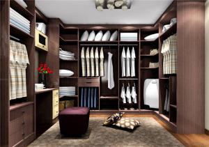 室内衣柜样板间