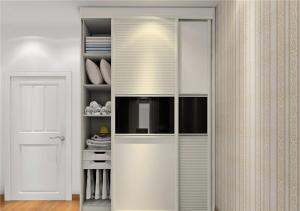 温馨现代简约衣柜