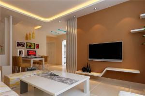 板式白色电视柜