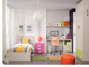 儿童房榻榻米设计1.2米床