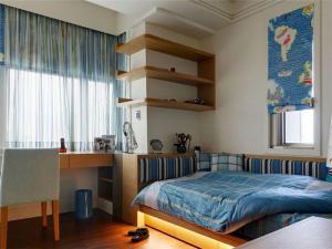 儿童房布置榻榻米床