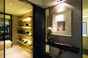 家庭装修玄关效果图室内鞋柜设计