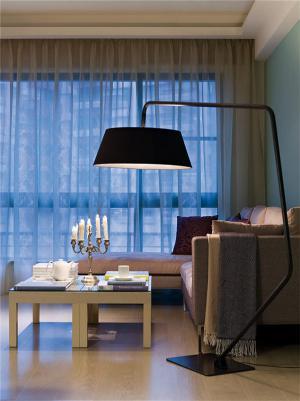 温馨客厅灯具设计小户型家