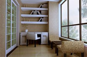 阳台改书房效果图改造集锦