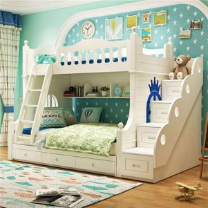 子母卧室上下床装修效果图