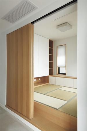 日系现代榻榻米房间