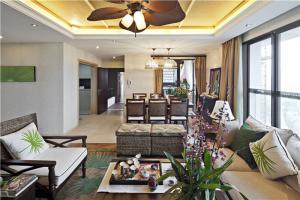 欧式奢华小户型客厅沙发