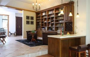 家居客厅吧台