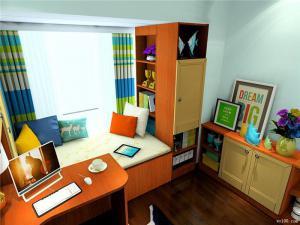 7平方米书房飘窗书桌