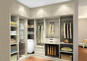 创意开放式整体衣柜