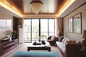 家装新中式客厅家具