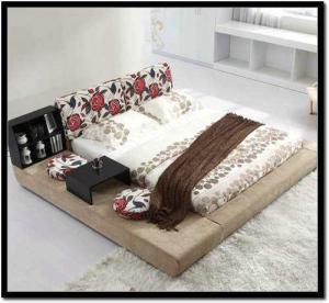 卧室地台床装修效果图片大