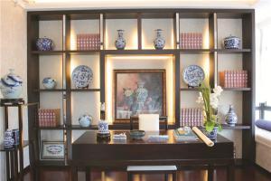 中式书柜展示架