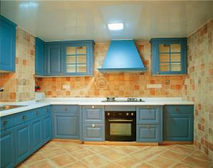 瓷砖厨柜流行款