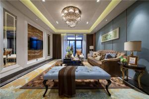 中式客厅背景墙风水