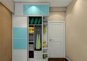 家居现代简约衣柜