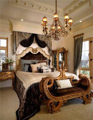 家居别墅卧室装修