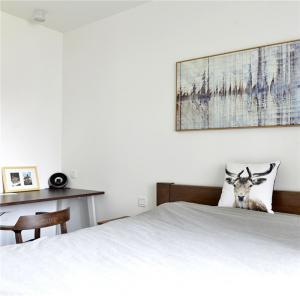 卧室床背景墙