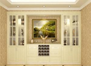 小清新欧式装饰柜