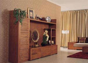 公寓墙体装饰柜