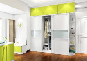 公寓简欧衣柜