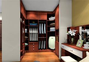 实木室内衣柜