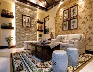 美式小户型客厅沙发