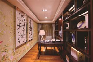 欧式书房装修效果图家居家