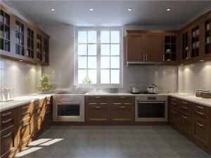 大空间整体厨房橱柜