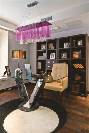 钢化玻璃家用书桌