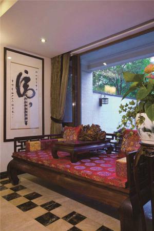 热门新中式客厅家具
