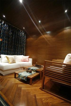 公寓新中式客厅家具