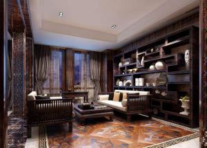 室内设计中式书房装修效果