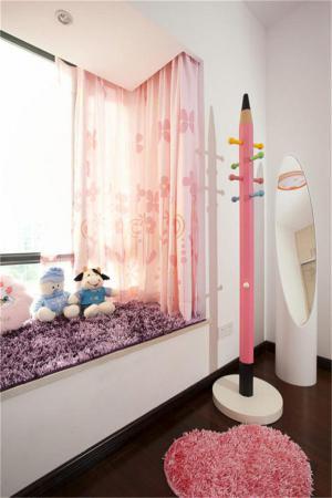 小空间儿童房设计飘窗榻榻米