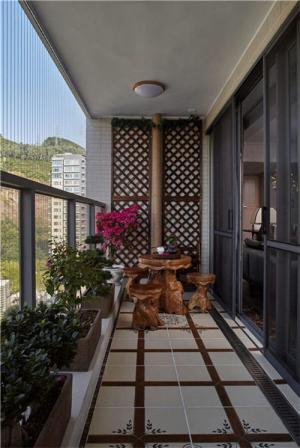 高层阳台封闭效果图设计方案