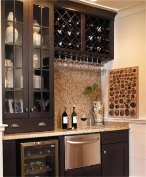 家用红酒柜橱柜设计