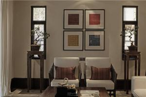 新中式客厅家具订制