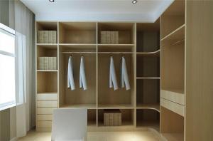 家居开放式整体衣柜