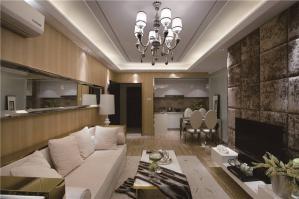 现代客厅沙发布局