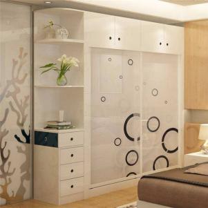 卧室转角衣柜设计