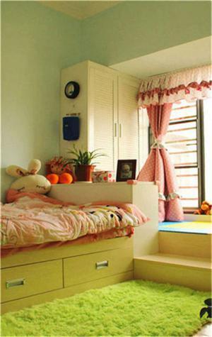 10平米儿童房设计地台榻榻米