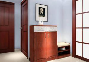 家装木质鞋柜