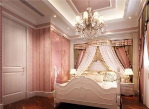 欧式奢华带书桌的衣柜