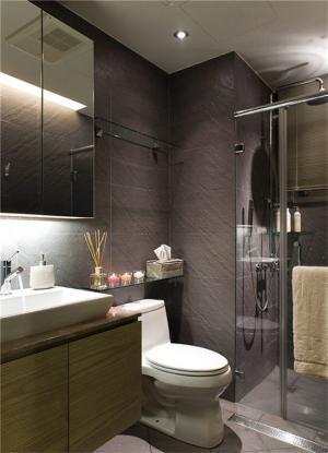 小户型家装样板间卫浴图片