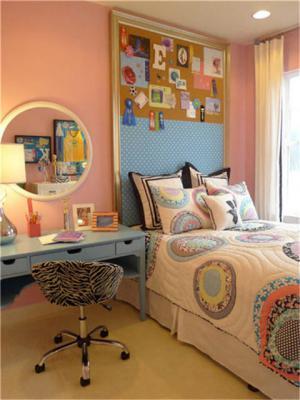 儿童房榻榻米设计颜色搭配