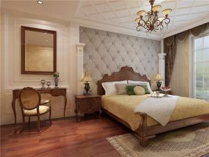 简欧卧室背景墙素材高清